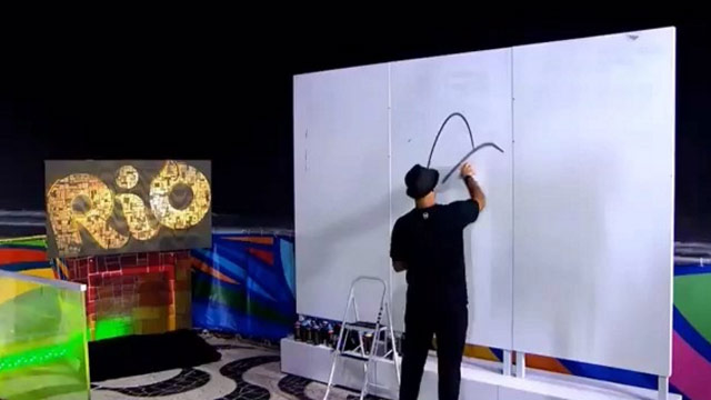 Live Painting #OlympicLateNight